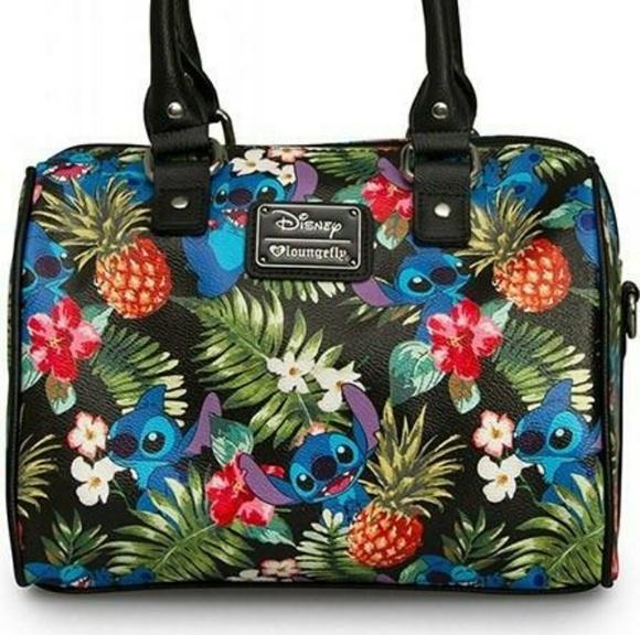 3ceb0378c91 loungefly Handbags - Loungefly Stitch Hawaiian purse bag